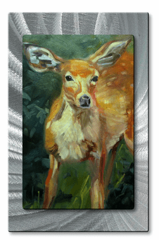 Portrait of a Fawn Animal Art