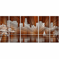 Los Angeles City Scape Wall Art