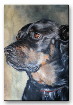 Loyal Friend Canine Wall Art