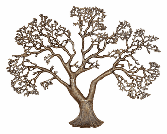 Mighty Oak Metal Wall Art