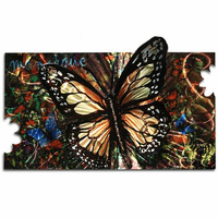Monarch Butterfly Metal Wall Art