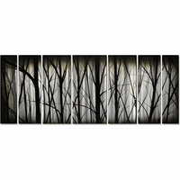 Morning in the Forest Wall Art Set of 7