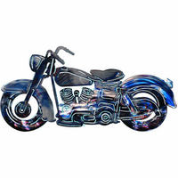Motorcycle Mojo Metal Wall Art Decoration
