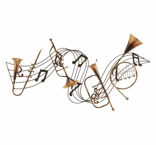 Musical Dreams Handcrafted Metal Wall Hanging