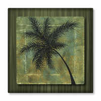 Muted Palm Tropical Art