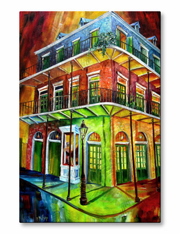 Nightlife New Orleans Wall Art
