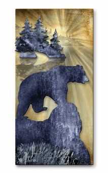 Northern Lakes Bear Wall Art