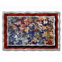 Remembrance Leaves Metal Wall Art
