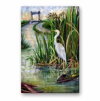 Residents of the Bayou Metal Art
