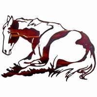 Resting Filly Horse Wall Art
