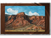 Rocky Red Canyon Metal Wall Art