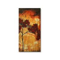 Showered in Gold Tree Art