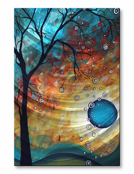 Solar Shower Tree Wall Art