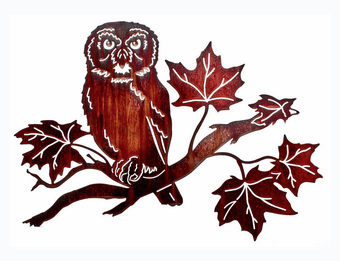 Something to Hoot About Owl Art