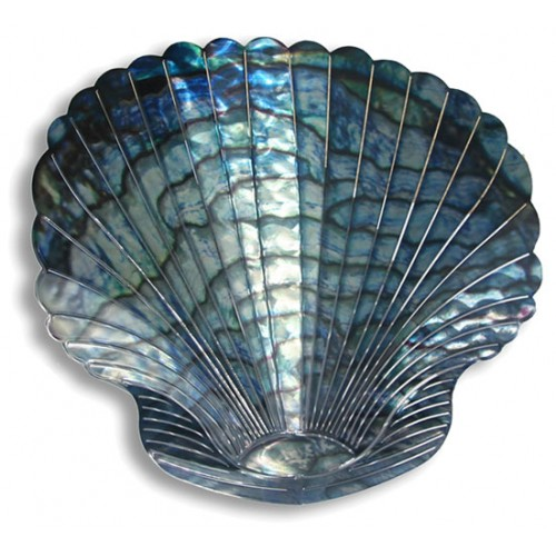 Spectacular Silver Seashell Metal Wall Decor Zoom Click Image To Enlarge