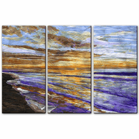 Sunset Shores Beach Wall Art