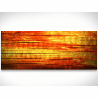 Sunset Symphony Metal Wall Art