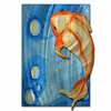 Swimming Upstream Fish Wall Art