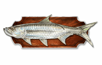 Tarpon Fish Wall Hanging