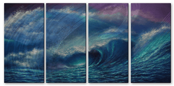 Thunderous Ocean Wall Panels
