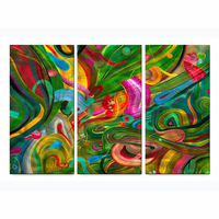 Trio of Color Wall Art Set of 3