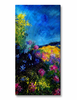 Vivid Meadow Flower Wall Art