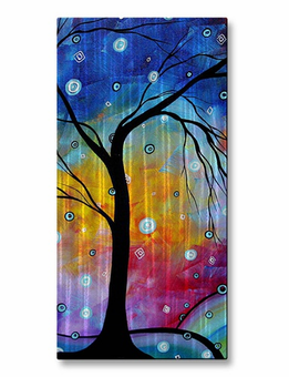 Whimsical Storm Tree Art
