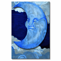 Winkin', Blinkin' and Nod Moon Art
