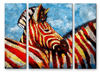Zebra Contrast Wildlife Art