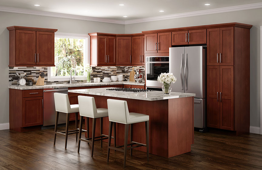 Amesbury Cherry Kitchen Cabinets