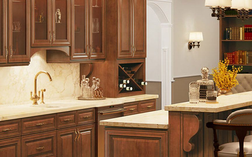 Casselberry Saddle Kitchen Cabinets