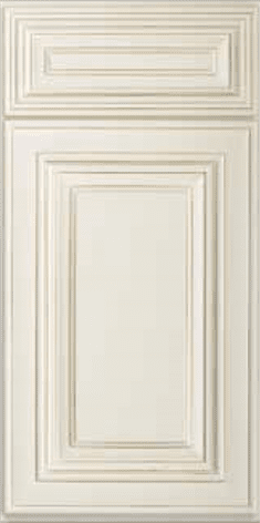 Casselberry Antique White Sample Door