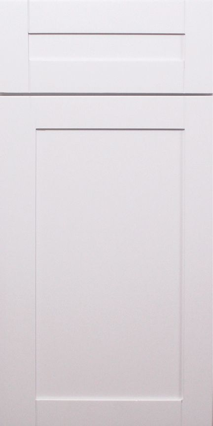 Classic White Shaker Sample Door