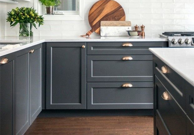 Dartmouth 5-Piece Midnight Kitchen Cabinets