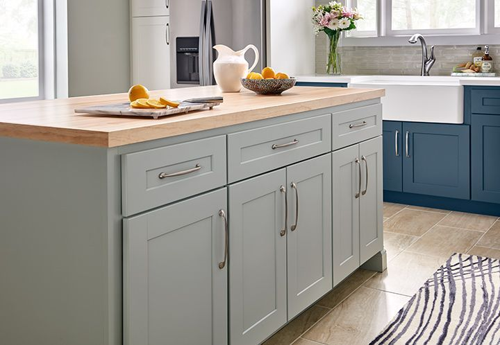 Dartmouth 5-Piece Palmetto Kitchen Cabinets