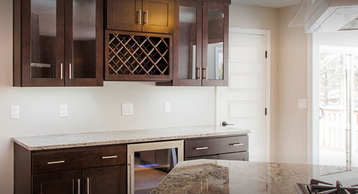 Dartmouth Brownstone Kitchen Cabinets