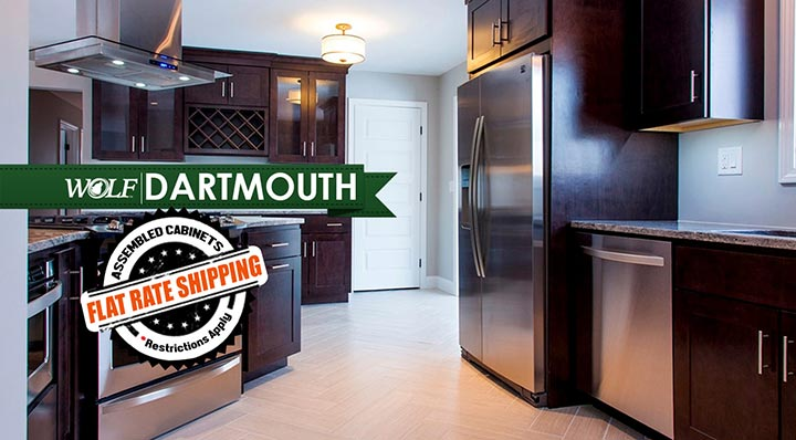Dartmouth Dark Sable Kitchen Cabinets
