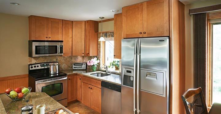 Dartmouth Honey Kitchen Cabinets