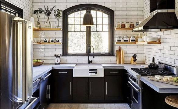 Dartmouth Midnight Paint Kitchen Cabinets