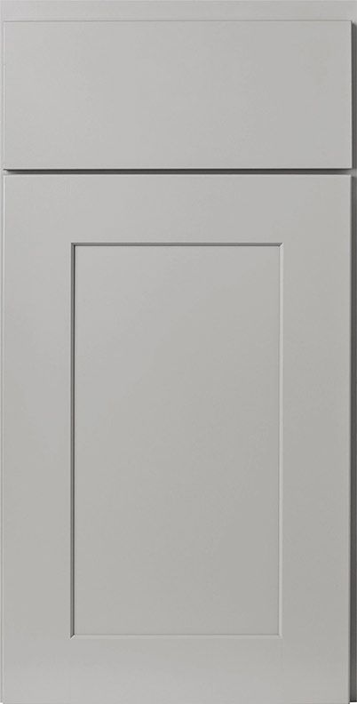 Dartmouth Pewter Paint Sample Door