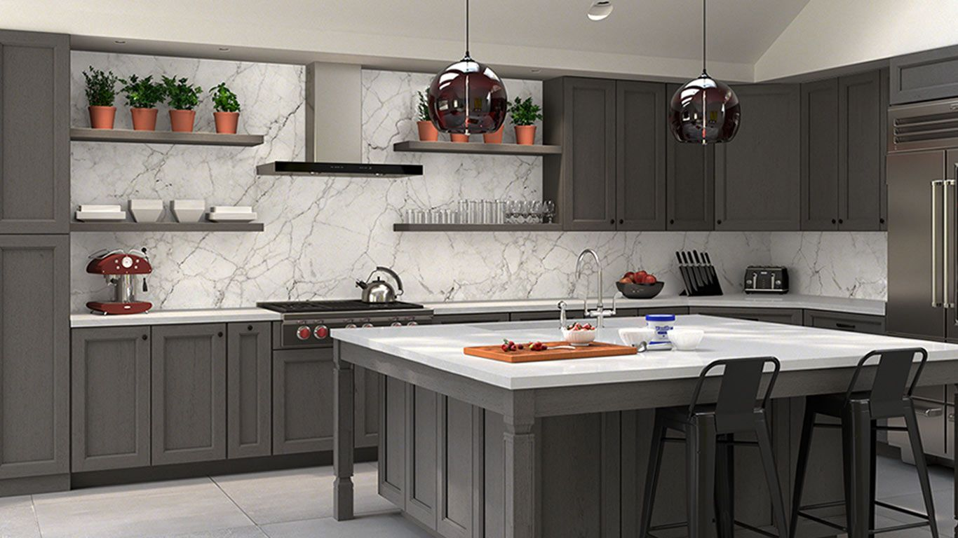 Forevermark Tsg Townsquare Grey 10x10 Kitchen Cabinets