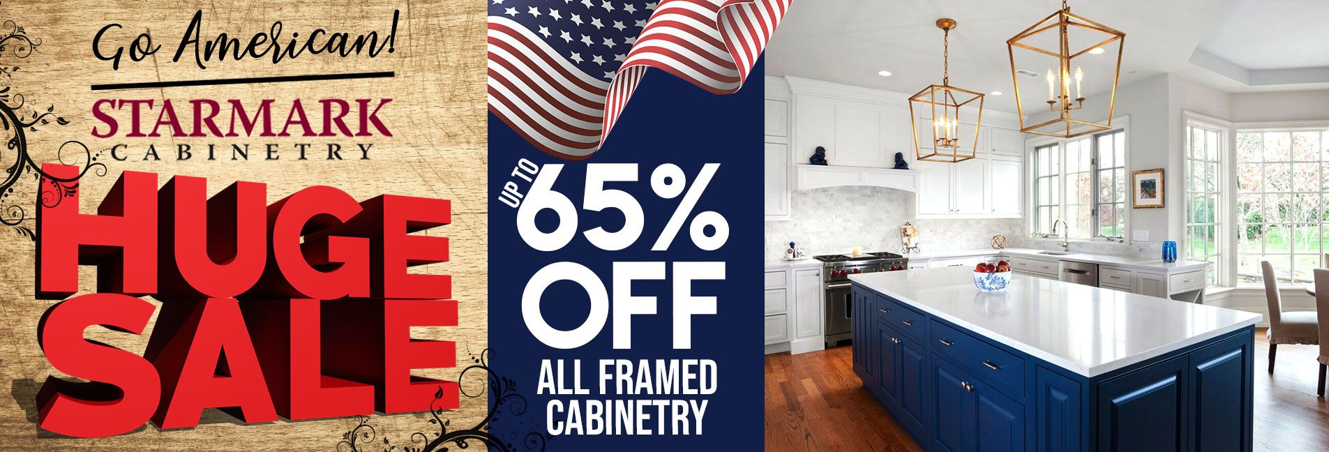 Huge All American Kitchen Cabinet Sale