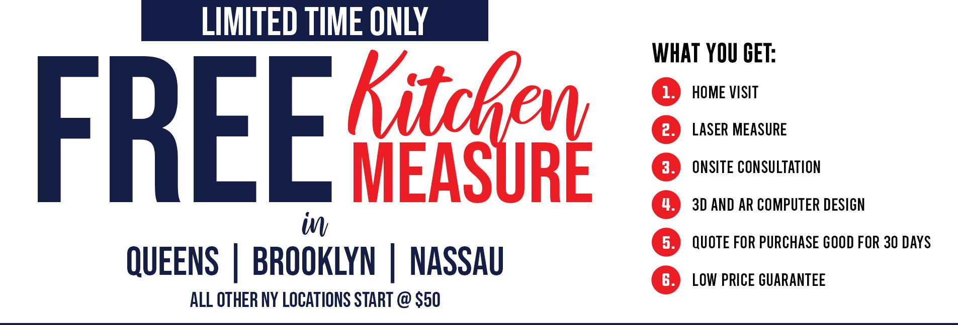Free Kitchen Measure