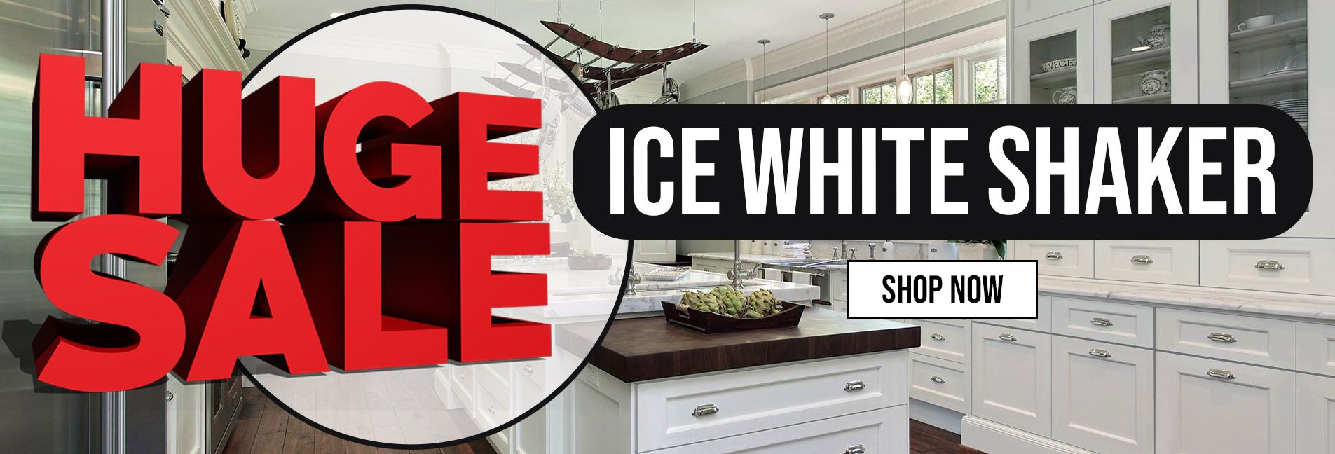 Ice White Shaker Huge Sale