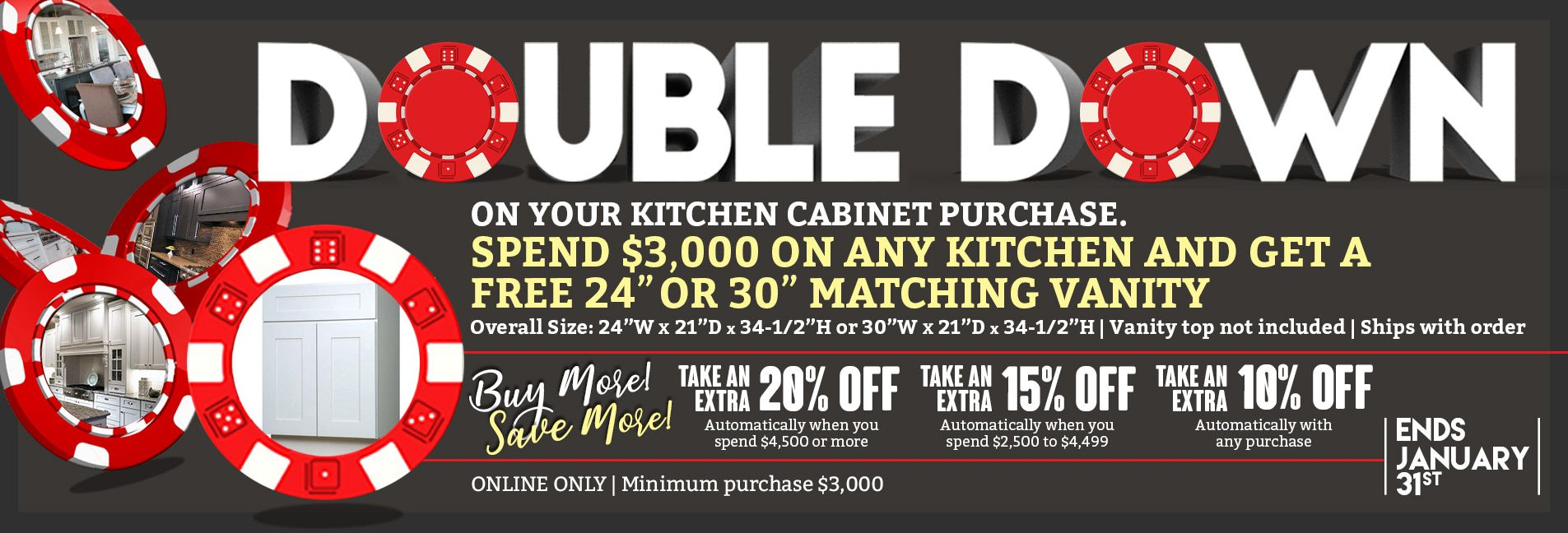 Double Down & Buy More Save More