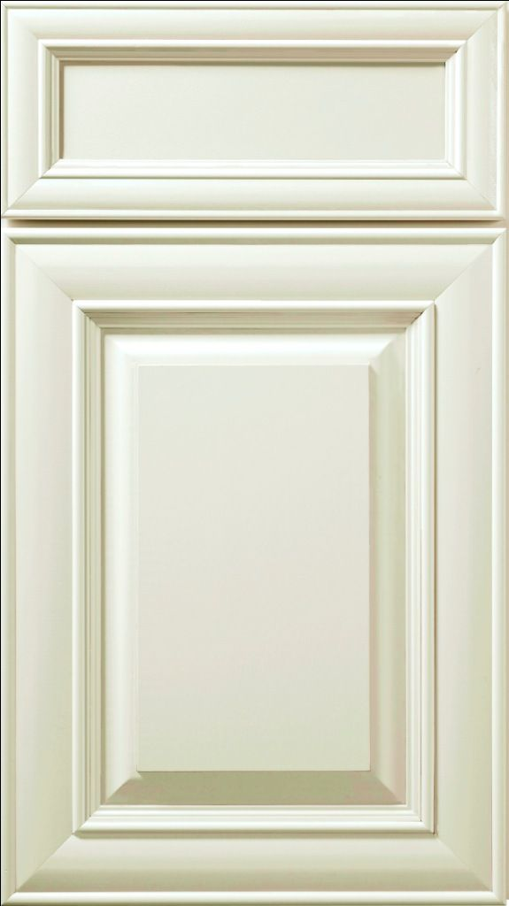 Hudson Painted Antique White Small Sample Door