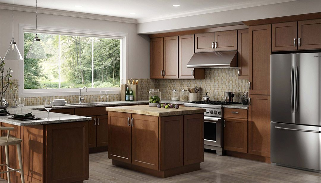 Luxor Cinnamon Kitchen Cabinets