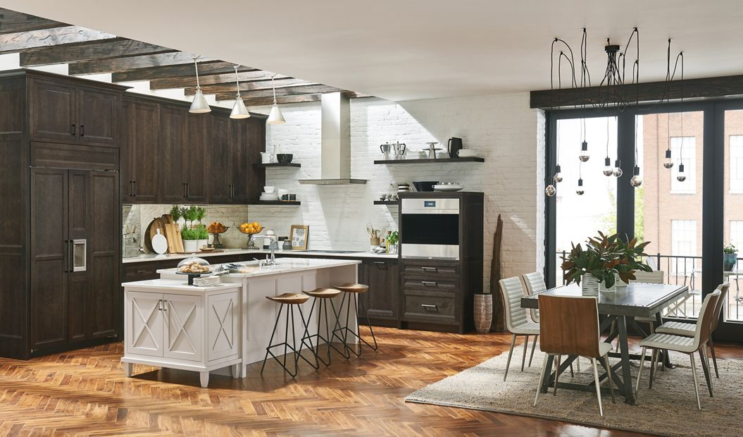 Medallion Middleton And Amesbury Kitchen Cabinets