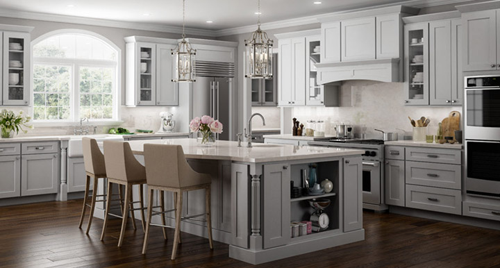 Norwich Slab Kitchen Cabinets