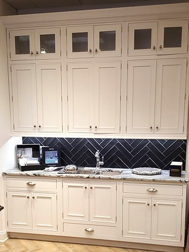 Omega Cabinets Beckwith Inset Display